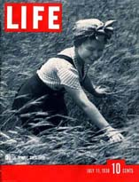 photos and articles from this issue of LIFE